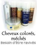 gamme cheveux colorés